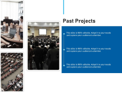 Conference Session Past Projects Ppt Icon Portrait PDF