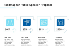 Conference Session Roadmap For Public Speaker Proposal Ppt Visual Aids Styles PDF