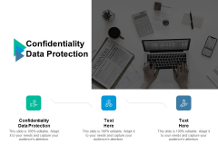 Confidentiality Data Protection Ppt PowerPoint Presentation Outline Slideshow Cpb