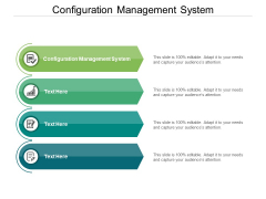 Configuration Management System Ppt PowerPoint Presentation Model Background Cpb