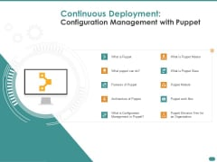 Configuration Management With Puppet Continuous Deployment Configuration Management With Puppet Ideas PDF