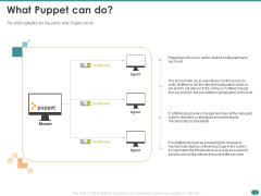 Configuration Management With Puppet What Puppet Can Do Ppt Slides Themes PDF