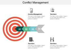 Conflict Management Ppt Powerpoint Presentation File Maker Cpb