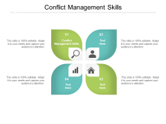 Conflict Management Skills Ppt PowerPoint Presentation Inspiration Introduction Cpb