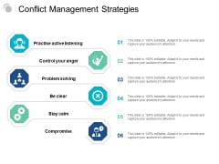 Conflict Management Strategies Ppt PowerPoint Presentation Layouts Microsoft