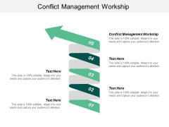 Conflict Management Workplace Ppt PowerPoint Presentation Infographic Template Shapes Cpb