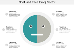 Confused Face Emoji Vector Ppt PowerPoint Presentation Slides Example Topics