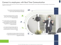 Connect To Employees With Real Time Communication Summary PDF