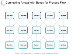 Connecting Arrows With Boxes For Process Flow Ppt PowerPoint Presentation Show Picture
