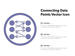 Connecting Data Points Vector Icon Ppt PowerPoint Presentation Infographics Infographics PDF