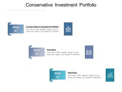 Conservative Investment Portfolio Ppt PowerPoint Presentation Information Cpb Pdf