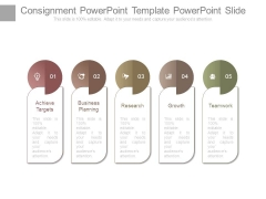 Consignment Powerpoint Template Powerpoint Slide