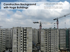 Construction Background With Huge Buildings Ppt PowerPoint Presentation Portfolio Topics