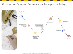 Construction Business Company Profile Construction Company Environmental Management Policy Guidelines PDF