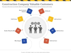 Construction Business Company Profile Construction Company Valuable Customers Rules PDF