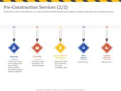 Construction Business Company Profile Pre Construction Services Value Ppt Professional Samples PDF