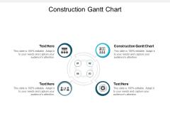 Construction Gantt Chart Ppt PowerPoint Presentation Show Vector Cpb