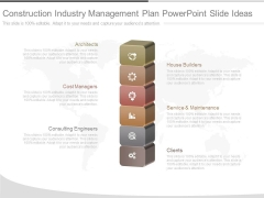 Construction Industry Management Plan Powerpoint Slide Ideas