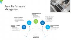 Construction Management Services Asset Performance Management Brochure PDF