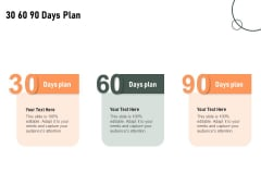 Construction Production Facilities 30 60 90 Days Plan Ppt Professional Templates PDF