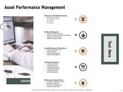 Construction Production Facilities Asset Performance Management Slides PDF