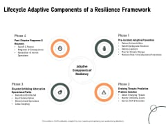 Construction Production Facilities Lifecycle Adaptive Components Of A Resilience Framework Mockup PDF