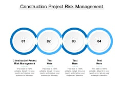 Construction Project Risk Management Ppt PowerPoint Presentation Show Background Image Cpb