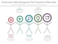 Construction Safety Management Plan Powerpoint Slides Ideas