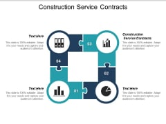 Construction Service Contracts Ppt PowerPoint Presentation Model Deck