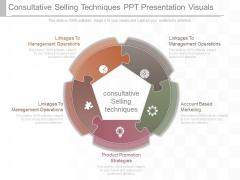 Consultative Selling Techniques Ppt Presentation Visuals