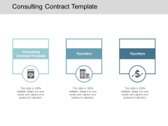 Consulting Contract Template Ppt Powerpoint Presentation Inspiration Icons Cpb