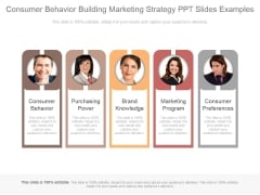 Consumer Behavior Building Marketing Strategy Ppt Slides Examples