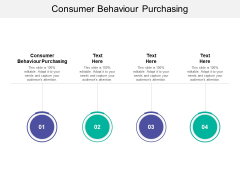Consumer Behaviour Purchasing Ppt PowerPoint Presentation Pictures Clipart Cpb