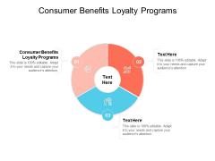 Consumer Benefits Loyalty Programs Ppt PowerPoint Presentation Portfolio Slides Cpb