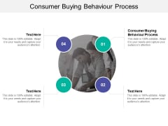 Consumer Buying Behaviour Process Ppt PowerPoint Presentation Slides Picture Cpb