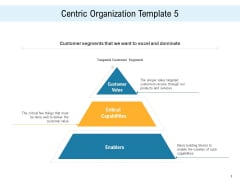 Consumer Centric Promotion Centric Organization Template Products Ppt Ideas Guidelines PDF