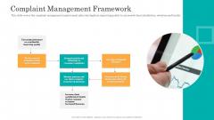 Consumer Complaint Handling Process Complaint Management Framework Slides PDF