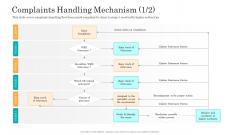 Consumer Complaint Handling Process Complaints Handling Mechanism Professional PDF