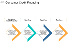 Consumer Credit Financing Ppt Powerpoint Presentation Slides Diagrams Cpb
