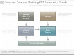 Consumer Database Marketing Ppt Presentation Visuals