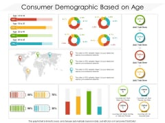 Consumer Demographic Based On Age Ppt PowerPoint Presentation Icon Slides PDF