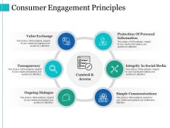 Consumer Engagement Principles Ppt PowerPoint Presentation Graphics