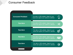 Consumer Feedback Ppt PowerPoint Presentation File Brochure Cpb