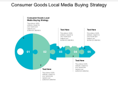 Consumer Goods Local Media Buying Strategy Ppt PowerPoint Presentation Guide Cpb