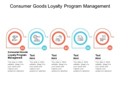 Consumer Goods Loyalty Program Management Ppt PowerPoint Presentation Topics Cpb