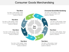 Consumer Goods Merchandising Ppt PowerPoint Presentation Pictures Themes Cpb