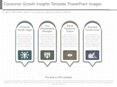 Consumer Growth Insights Template Powerpoint Images