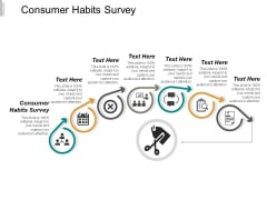 Consumer Habits Survey Ppt PowerPoint Presentation File Show Cpb