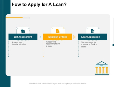Consumer Lending Procedure How To Apply For A Loan Ppt Example PDF