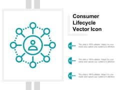Consumer Lifecycle Vector Icon Ppt Powerpoint Presentation Inspiration Infographics